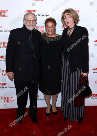 Steve Jaffe, Jo Ann Jenkins, Susan Blakely. Steve Jaffe, from left, AARP CEO Jo Ann Jenkins and Susan Blakely attend AARP The Magazine's 18th Annual Movies For Grownups Awards at Beverly Wilshire Hotel, in Beverly Hills, Calif