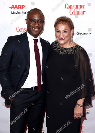 Barry Jenkins, Jo Ann Jenkins. Barry Jenkins, left, and AARP CEO Jo Ann Jenkins attend AARP The Magazine's 18th Annual Movies For Grownups Awards at Beverly Wilshire Hotel, in Beverly Hills, Calif