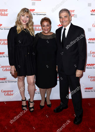 Denise Grayson, Jo Ann Jenkins, Robert Forster. Denise Grayson, from left, AARP CEO Jo Ann Jenkins, and Robert Forster attend AARP The Magazine's 18th Annual Movies For Grownups Awards at Beverly Wilshire Hotel, in Beverly Hills, Calif