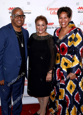 Terence Blanchard, Jo Ann Jenkins, Robin Burgess. Terence Blanchard, from left, AARP CEO Jo Ann Jenkins, and Robin Burgess attend AARP The Magazine's 18th Annual Movies For Grownups Awards at Beverly Wilshire Hotel, in Beverly Hills, Calif