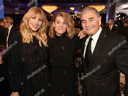 Denise Grayson, Elizabeth Chomko, Robert Forster. Denise Grayson, from left, Elizabeth Chomko and Robert Forster attend AARP The Magazine's 18th Annual Movies For Grownups Awards at Beverly Wilshire Hotel, in Beverly Hills, Calif