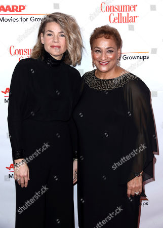 Elizabeth Chomko, Jo Ann Jenkins. Elizabeth Chomko, left, and AARP CEO Jo Ann Jenkins attend AARP The Magazine's 18th Annual Movies For Grownups Awards at Beverly Wilshire Hotel, in Beverly Hills, Calif
