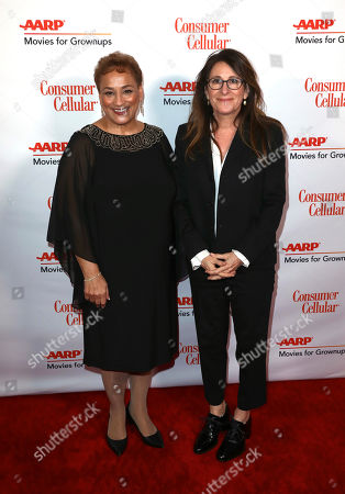 Jo Ann Jenkins, Nicole Holofcener. AARP CEO Jo Ann Jenkins, left, and Nicole Holofcener attend AARP The Magazine's 18th Annual Movies For Grownups Awards at Beverly Wilshire Hotel, in Beverly Hills, Calif