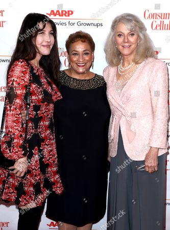 Gillian Greene, Jo Ann Jenkins, Blythe Danner. Gillian Greene, from left, AARP CEO Jo Ann Jenkins and Blythe Danner attend AARP The Magazine's 18th Annual Movies For Grownups Awards at Beverly Wilshire Hotel, in Beverly Hills, Calif