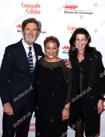 Matt McCoy, Jo Ann Jenkins, Mary McCoy. Matt McCoy, from left, AARP CEO Jo Ann Jenkins, and Mary McCoy attend AARP The Magazine's 18th Annual Movies For Grownups Awards at Beverly Wilshire Hotel, in Beverly Hills, Calif