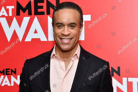 """Maurice DuBois attends a screening of """"What Men Want"""" at the Crosby Street Hotel, in New York"""