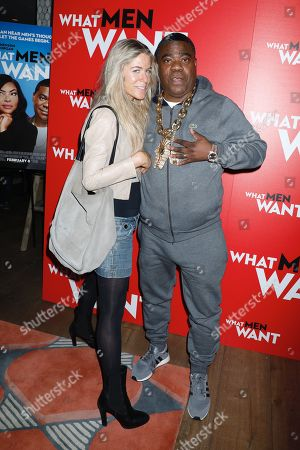 Stock Picture of Marci Klein and Tracy Morgan
