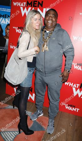 Marci Klein and Tracy Morgan