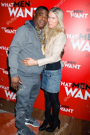 Tracy Morgan and Marci Klein