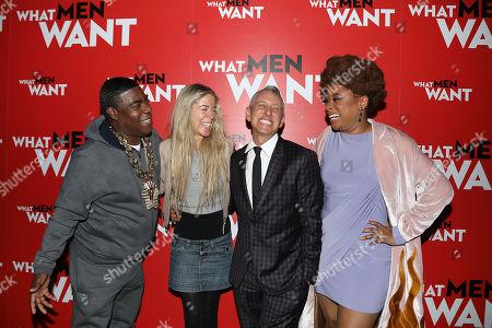 Tracy Morgan, Marci Klein, Adam Shankman (Director) and Phoebe Robinson