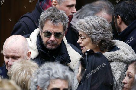 Jean-Michel Jarre and Charlotte Rampling