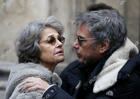 Charlotte Rampling and Jean-Michel Jarre