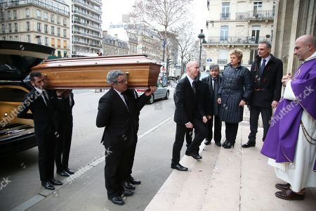 Funeral of Henry Chapier