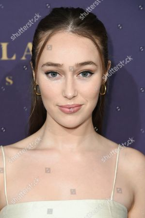 Stock Picture of Alycia Debnam Carey attends The Hollywood Reporter's 2019 Oscar Nominees Night at the Beverly Wilshire Hotel, in Beverly Hills, Calif