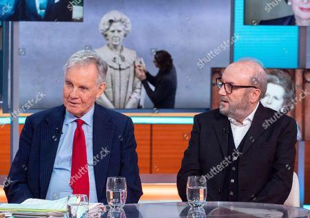 Stock Photo of Jonathan Aitken and George Galloway