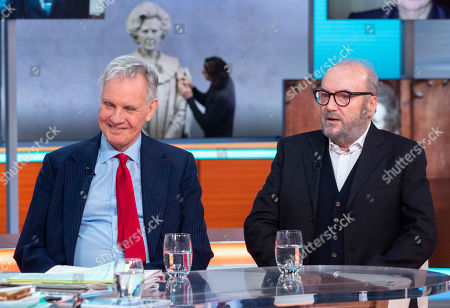 Stock Picture of Jonathan Aitken and George Galloway