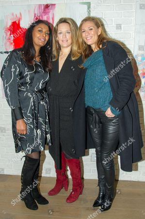 Stock Image of Samira Ibrahim, Caroline Faindt, Marie Mamgioglou
