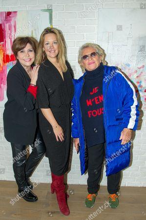 Liane Foly, Caroline Faindt, Veronique de Villele