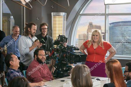 Todd Strauss-Schulson Director and Rebel Wilson as Natalie