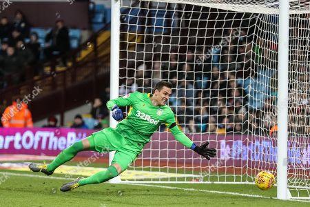Lovre Kalinic of Aston Villa