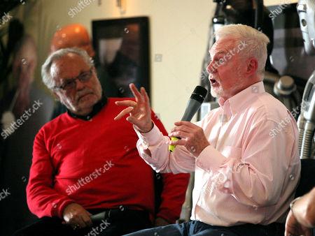 Philip Madoc and Derek Jacobi