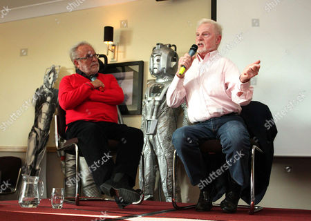 Stock Picture of Philip Madoc and Derek Jacobi