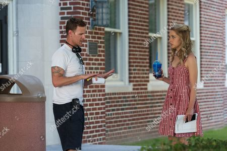 Christopher B Landon Writer/Director and Jessica Rothe as Tree Gelbman