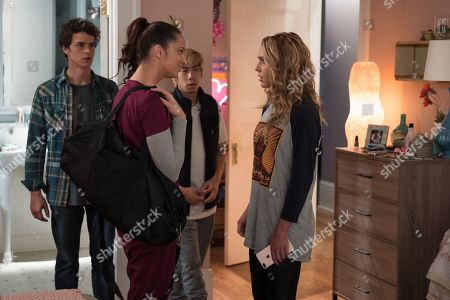 Israel Broussard as Carter Davis, Ruby Modine as Lori Spengler, Phi Vu as Ryan Phan and Jessica Rothe as Tree Gelbman
