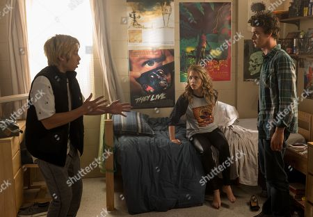 Phi Vu as Ryan Phan, Jessica Rothe as Tree Gelbman and  Israel Broussard as Carter Davis