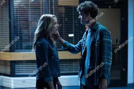 Stock Picture of Jessica Rothe as Tree Gelbman and Israel Broussard as Carter Davis