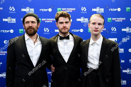 Stock Photo of Arieh Worthalter, Lukas Dhont, Victor Polster