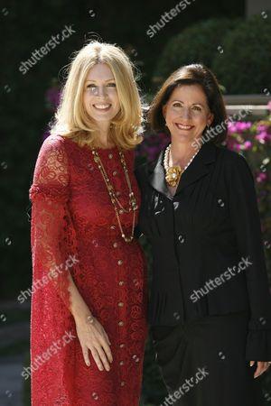 Susan Casden and Heather Shuemaker