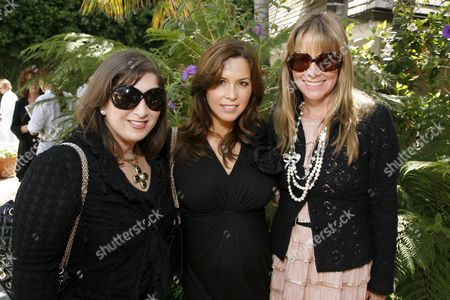 Jani Hale, Monique Lhuillier and Maria Arena Bell