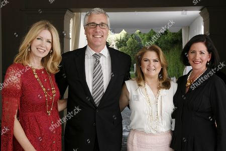 Stock Photo of Susan Casden, Larry Bruce,  Robin Broidy and Heather Shuema