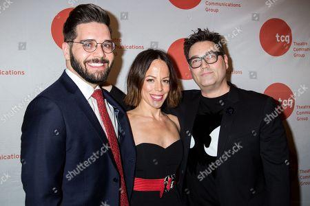 Rob Russo, Leslie Kritzer, Jamie DuMont