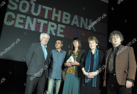 Seamus Heaney, Daljit Nagra, Alice Oswald, Wendy Cope and Paul Muldoon