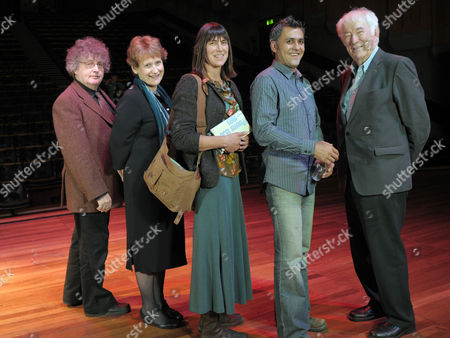 Paul Muldoon, Wendy Cope, Alice Oswald, Daljit Nagra and Seamus Heaney