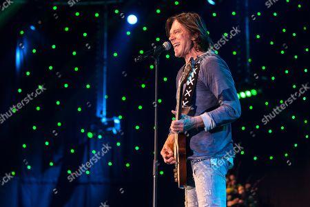 German pop singer Juergen Drews live at the 16th Schlager Nacht in Lucerne, Switzerland