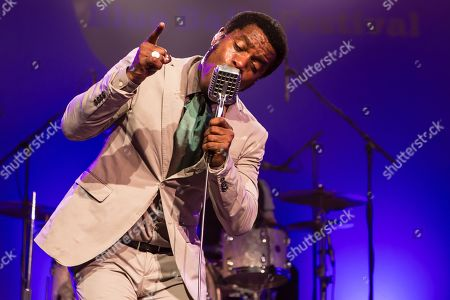 The US-American Rhythm and Blues Band Vintage Trouble live at the Blue Balls Festival Lucerne, Switzerland Ty Taylor: Vocals Nalle Colt: Guitar Rick Barrio Dill: Bass Richard Danielson: Drums