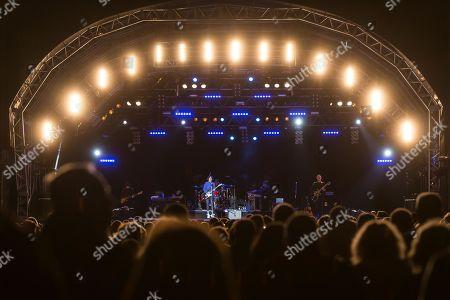The British band Texas with singer Sharleen Spiteri live at the Magic Night at the Heitere Zofingen, Aargau, Switzerland