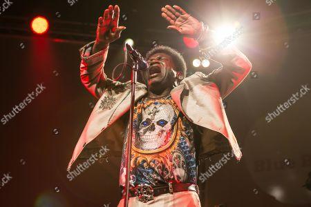 The US-American soul singer Charles Bradley live at the Blue Balls Festival Lucerne, Switzerland