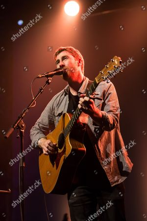 The British singer and songwriter Jamie Lawson live at the Blue Balls Festival Lucerne, Switzerland