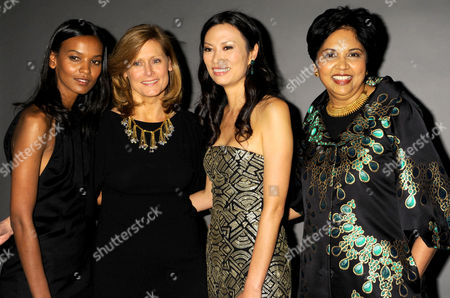 Liya Kebede, Sarah Brown, Wendy Murdoch, and Indra Nooyi