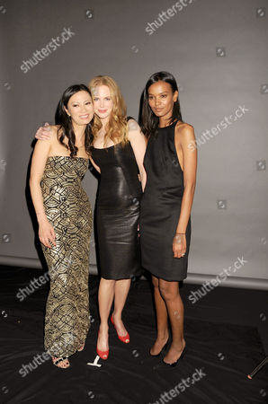 Wendy Murdoch, Nicole Kidman, and Liya Kadebe