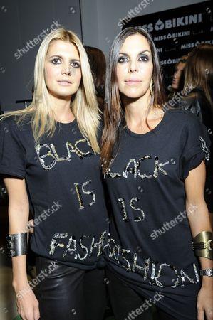 Stock Picture of Francesca Piacentini and Alessandra Piacentini