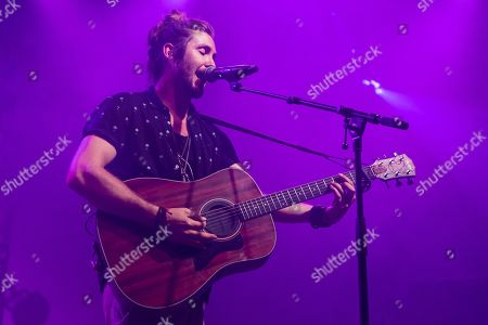 The South African singer-songwriter and environmental activist Jeremy Loops live at the 25th Blue Balls Festival in Lucerne, Switzerland