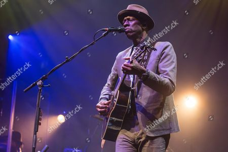 The American singer and songwriter Keb Mo, live at the Blue Balls Festival Lucerne, Switzerland