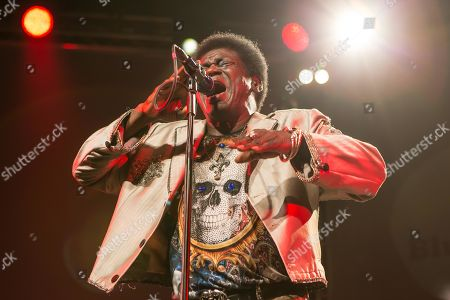 Stock Picture of The US-American soul singer Charles Bradley live at the Blue Balls Festival Lucerne, Switzerland