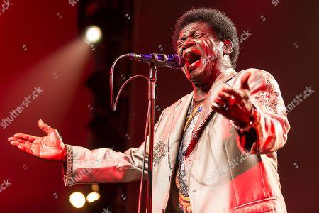 Stock Image of The US-American soul singer Charles Bradley live at the Blue Balls Festival Lucerne, Switzerland