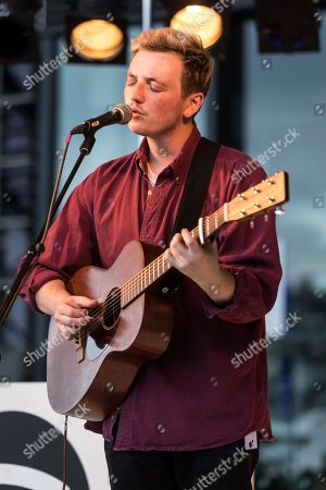 The British musician Lewis Watson live at the 25th Blue alls Festival in Lucerne, Switzerland